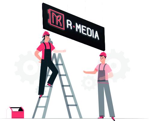 ремонт рекламных вывесок