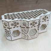 упаковка для мёда из фанеры